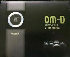 Olympus OM-D e-m1 Mark II 20.0mp sistema telecamera-NERO NUOVO E OVP