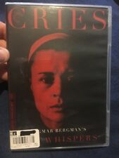 Cries and Whispers (DVD, 2015, 2-Disc Set, Criterion Collection)