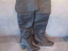 NEW W/ Box $298 Free People Brandi Over The Knee Boots sz 8 EUR 38 Black