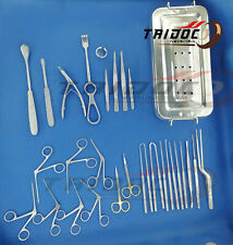 Tympanoplasty Micro Ear Surgery Instruments Set Grade Quality German Stainles A