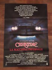 manifesto, CHRISTINE LA MACCHINA INFERNALE,JOHN CARPENTER AUTO CAR HORROR