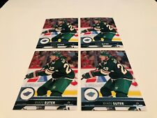 2017-18 Upper Deck 2 Hockey Ryan Suter Minnesota Wild 4 base card lot #339