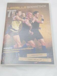 Sizzler Bodyattack 75 LesMills  DVD / CD Booklet set Fitness Workout