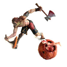"McfarlaneToysTwisted Fairy Tales PETER PUMPKIN EATER 6"" gory action figure"