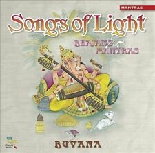 FREE US SHIP. on ANY 2 CDs! ~Used,Good CD Buvana: Songs of Light: Bhajans & Mant