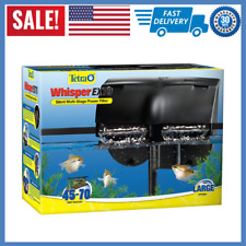 Tetra Whisper EX Silent Multi-Stage Power Filter for Aquariums 45-70 Gallons NEW