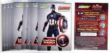 1X CAPTAIN AMERICA 2015 Avengers Age Of Ultron Subway PROMO SAMPLE MT Lots Avail