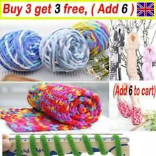 100G skeins yarn Chunky Crochet chenille Milk Soft velvet Knitting Wool GL UK