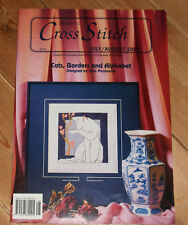 Jill Oxton's Cross Stitch Cats, Borders and Alphabet July/August 1993