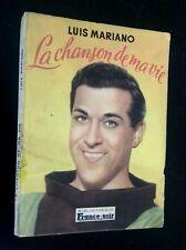 Rare Louis Mariano la chanson de ma vie Bibliothèque France soir