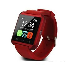 Smartwatch Phone U8 Bluetooth Orologio per Android Samsung S8, S8 Plus rosso