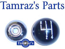 "1969 69 Camaro Shifter Shift Black & Chrome Ball 3/8"""
