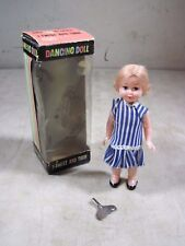 Vintage 1967 Timely Toys Dancing Doll Wind Up Toy Brooklyn NY Hong Kong W/Box
