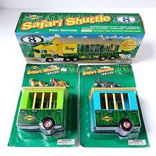 Sunoco Safari Shuttle Caravan 2001 w/ 2 Trailers 8th Series - Brand New
