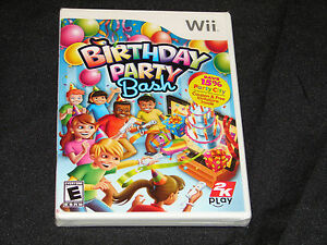 Birthday Party Bash - Party - Nintendo Wii   ***NEW SEALED***