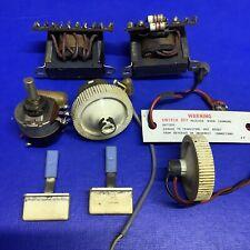 Original Vintage 1950's Bush Radio TR82/C Transformers & Knobs