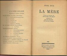 LA MERE - PEARL BUCK 1948