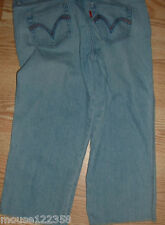 Levi 515 blue denim Capri jeans stretch size 10