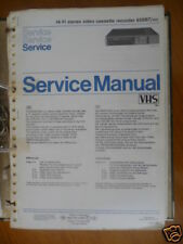 Service Manual Philips VR 63SB7 Video Recorder,ORIGINAL