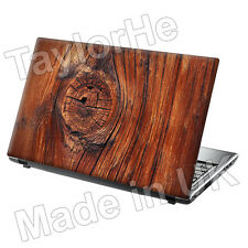 "15,6 ""Laptop piel cubierta Sticker Decal Madera Nudo 320"