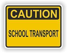 Transporte Escolar precaución etiqueta de advertencia Car Bus Camión Puerta Seguridad Niños