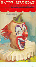 CLOWN-HAPPY BIRTHDAY-NO. 551. ABINGDON-1966-(CLOWN-50)ROCHESTER,MI