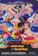 ## SEGA Mega Drive - Disney´s World of Illusion feat. Mickey & Donald Duck ##