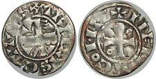 CHAMPAGNE - COMTÉ DE TROYES - HENRI II Denier 1180-1190 PA5951