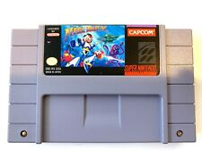 Mega Man X SUPER NINTENDO SNES Game - Tested - Working & Authentic!