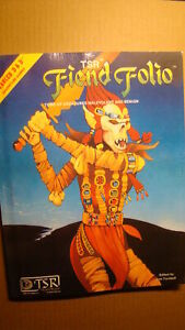FIEND FOLIO - DUNGEONS & DRAGONS *NEW NM/MT 9.8 NEW* MONSTER MANUAL