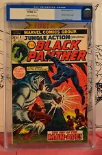 Jungle Action #5 CGC 9.0 pre #1 first 1st Black Panther in own title M'Baku