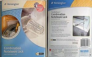 Anti-Theft Kensington Notebook Laptop Combination Lock