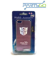 Transformers Brush Aluminum Case Cover for iPhone 5/ 5s PINK *USA*