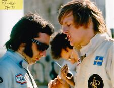 RONNIE PETERSON  LOTUS FORD EMERSON FITTIPALDI USGP 1973 F1  8 X 10 PHOTO 3