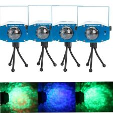 4 X Mini LED R&G Ripple Party DJ Club Stage laser Projector Light Show+Remote