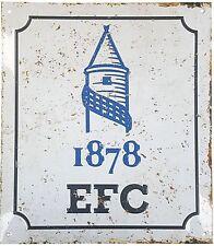 Everton FC Est 1878 retro look metal sign     (spg)