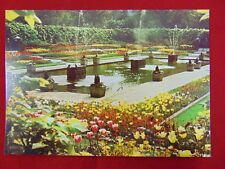 Vintage Original Kensington Gardens, London England Uncirculated Postcard - 1972