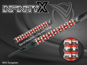 Velocity INFINITY-X 2ba Soft Tip Darts - 18g