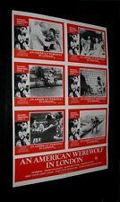 Orignl AMERICAN WEREWOLF IN LONDON Australian Village Roadshow LOBBY CARD POSTER
