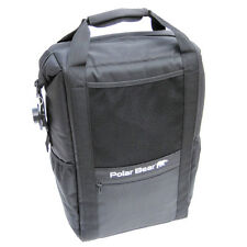 NEW Back Pack Polar Bear Cooler Black PB295
