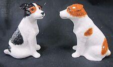 Jack Russel Terriers Ceramic Salt & Pepper Set canine decorTableware