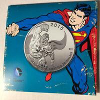 2015 Canada Superman $20 Dollar 1/4 Ounce Silver Coin