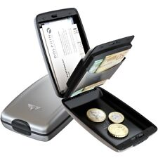 Aluminium BRIEFTASCHE Tru Virtu Card & Cash 2 Silver Arrow