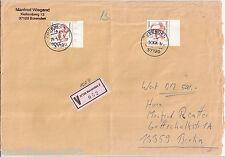 Deutschland Frauen Alice Salomon Mi. 1397 ° 1x mit BZ - MeF auf 500 DM Wertbrief