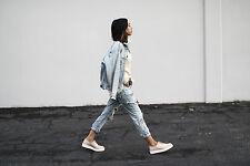 ZARA NUDE FLAT PLATFORM LACE-Up Shoes, Size 38