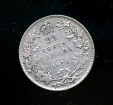 1936 Canada 25 Cents VF CP260