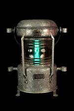 Ancien fanal, lanterne de bateau electrifié / Decoration lampe marine loft bar