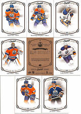2015-16 UD Upper Deck Champs Edmonton Oilers Team Set (8)