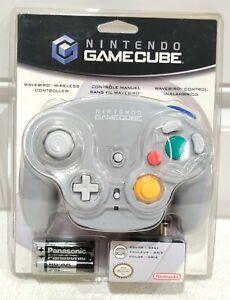 OFFICIAL Vintage Nintendo Gamecube Wavebird Wireless Controller - Grey 2003 RARE