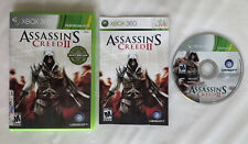 ☆ Assassin's Creed II 2 (Microsoft Xbox 360 2009) COMPLETE in Box Game Works ☆